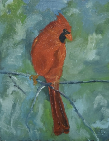Cardinal by artist Tammy Brown