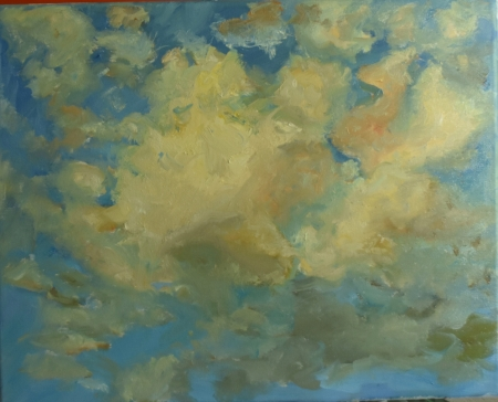 Cloud Study by artist Tammy Brown