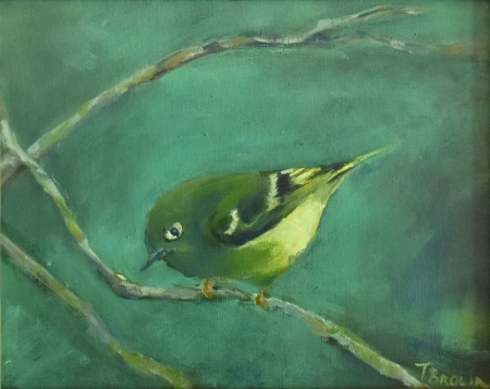 Ruby-crowned Kinglet by artist Tammy Brown