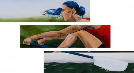 Town Lake Rower by artist Douglas Brown