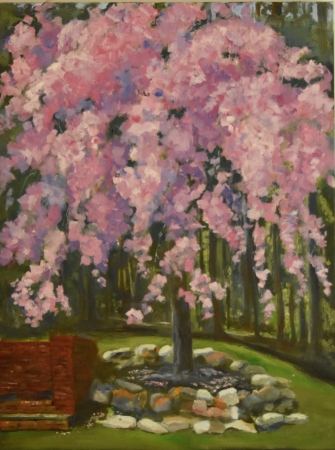 Weeping Cherry by artist Tammy Brown