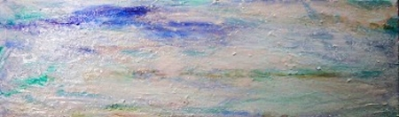 Monet's Waters II by artist Helen Buck