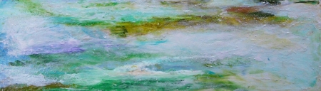 Monet's Waters IV by artist Helen Buck