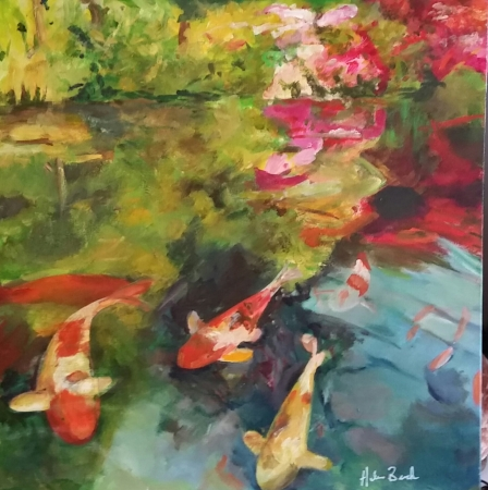 Reflecting Pond by artist Helen Buck