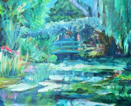 Memories of Monet by artist Helen Buck