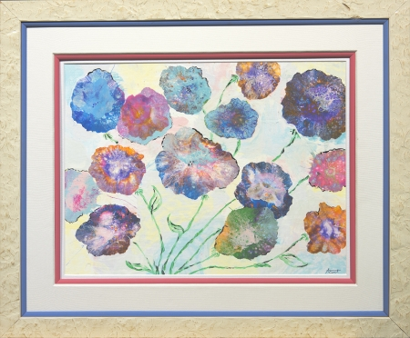 Flowers in Frame by artist Alison Centerwall