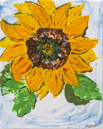 Sunflower by artist Alison Centerwall