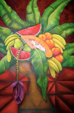 Tropical Fantasy by artist Laura Chapa