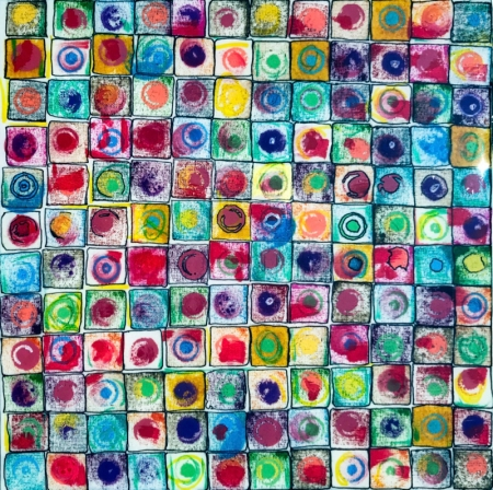 Circles In Squares by artist Emory Clark