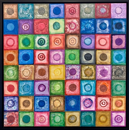 Circles-In-Squares 3 by artist Emory Clark