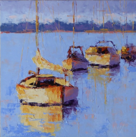 Harbor View by artist Janelle Cox