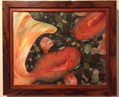 Goldfish by artist Holly Craig