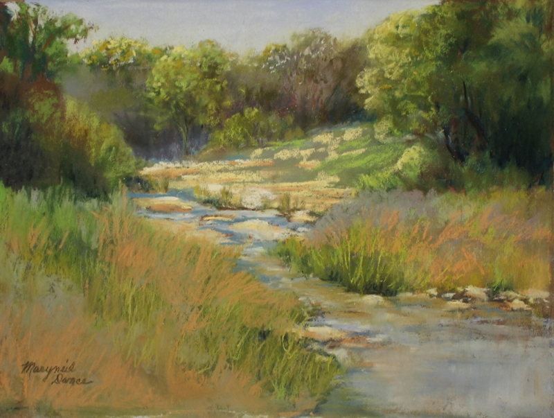 Limestone Creek by artist Maryneil Dance