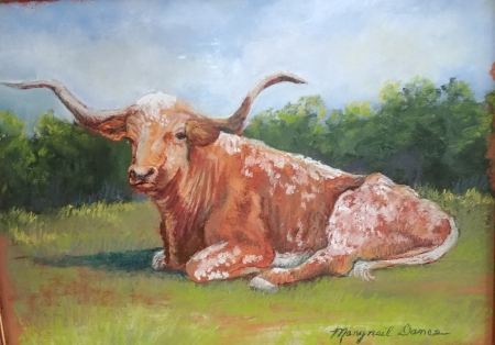 Texas Icon by artist Maryneil Dance