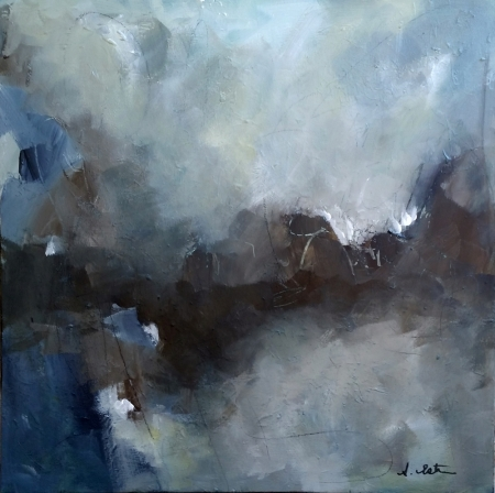 Moody Blues by artist Stephanie Estrin