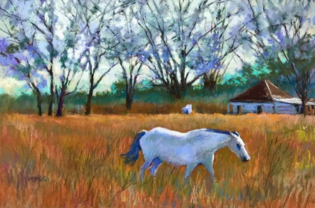 Out to Pasture by artist Mike Etie