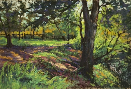 Trail to the Salt Lick by artist Mike Etie