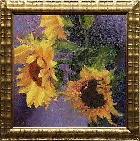 Blooming Yellow by artist Sandra Farrell