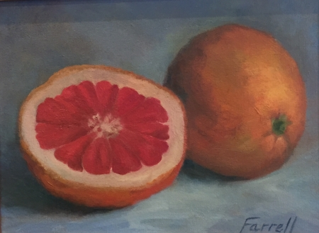 Juicy Fruit by artist Sandra Farrell