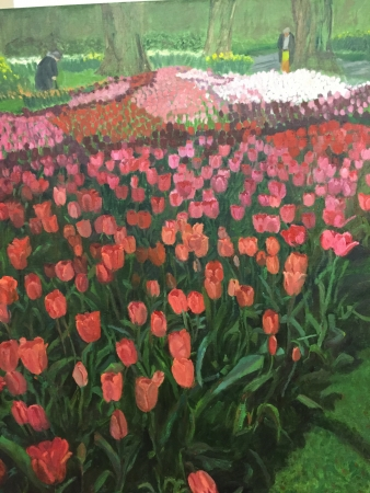 Tulips in Bloom by artist Sandra Farrell