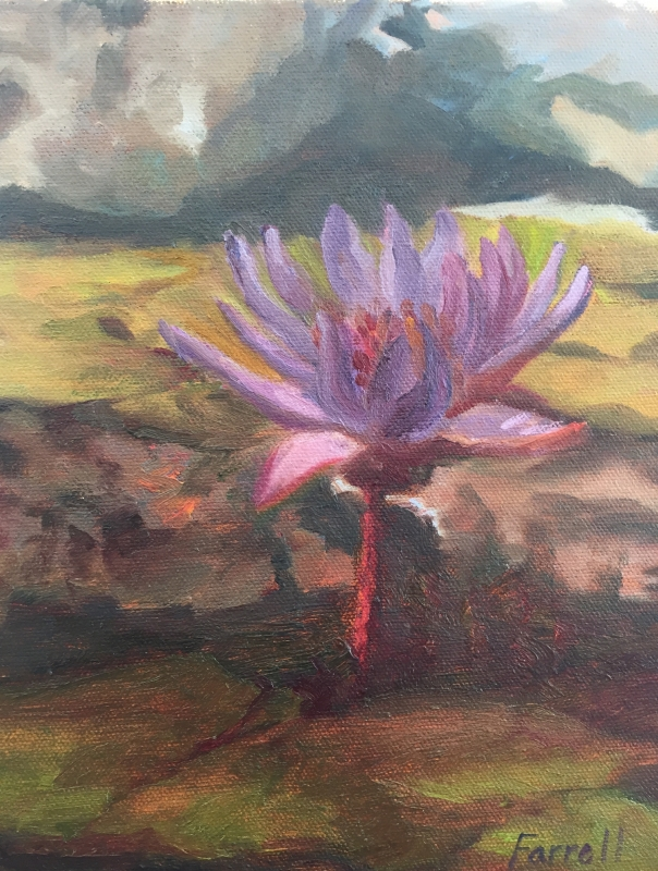 Water Lilly by artist Sandra Farrell