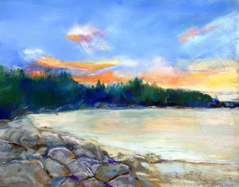 Fisherman's Cove by artist Sherry Fields