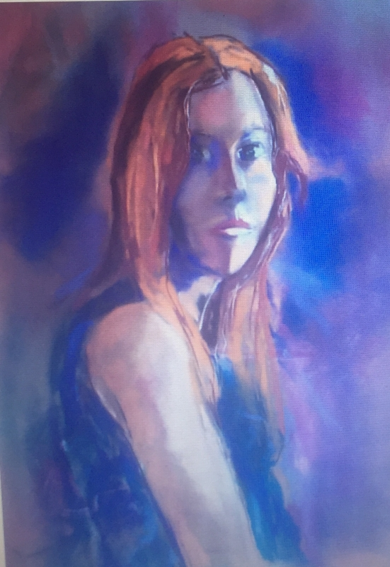 Portrait of the Dancer by artist Sherry Fields