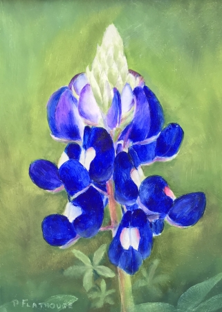 Bluebonnet by artist Pat Flathouse