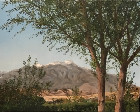 California Mountains by artist Pat Flathouse
