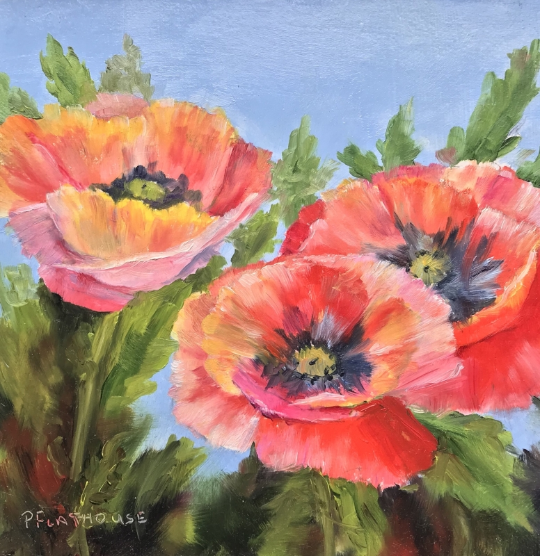 Challenge Poppy by artist Pat Flathouse