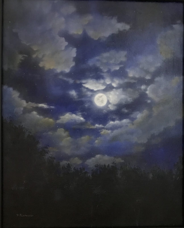 Moonlight Night by artist Pat Flathouse