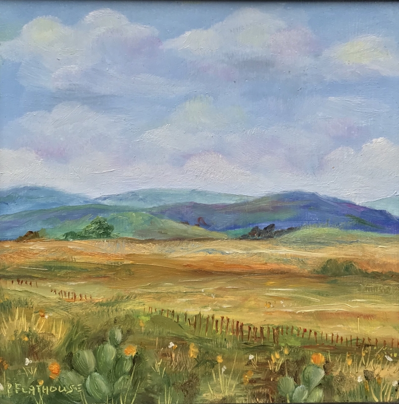New Mexico Spring by artist Pat Flathouse