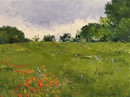 Poppy Field by artist Pat Flathouse