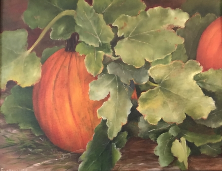 Pumpkin Patch by artist Pat Flathouse