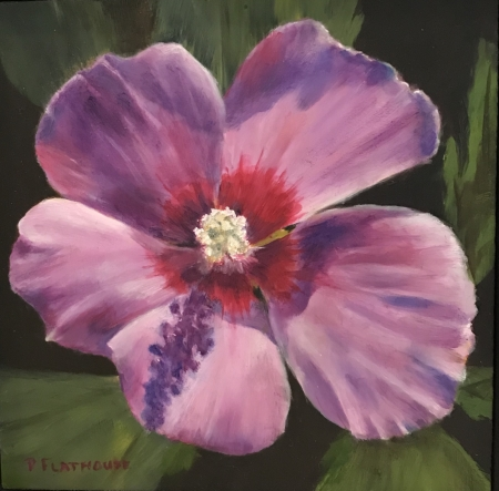 Rose of Sharon by artist Pat Flathouse