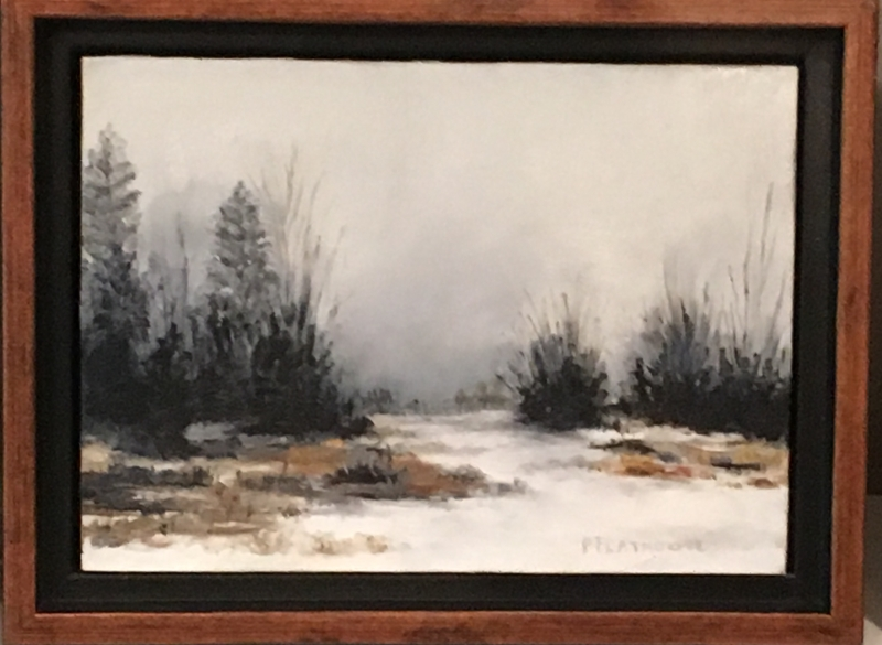 Winter River by artist Pat Flathouse