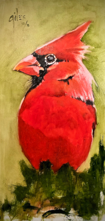 LITTLE RED BADASS by artist DOUG GILES