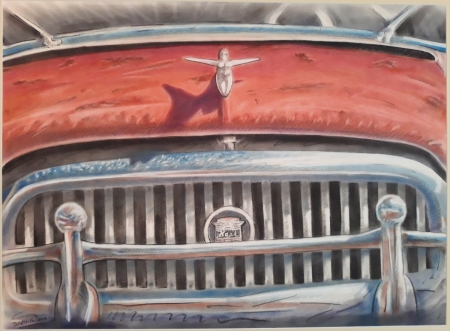 1952 Nash, detail by artist David Heil