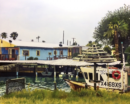 Port Isabel II by artist Michael Hewett