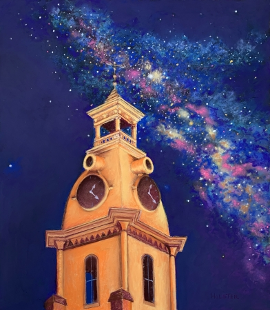 Clock Tower Fantasy by artist Jesse Holster