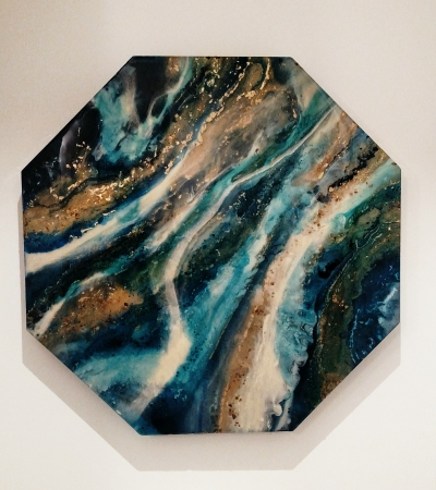 azul gemstone by artist Lacy Husmann