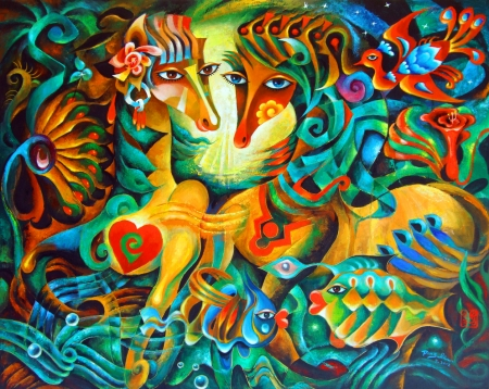 Paradise Horse by artist Ping Irvin