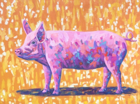 Pretty in Pink by artist Denise Jaunsem