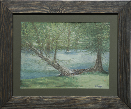 Guadalupe River by artist Geneva Johnson