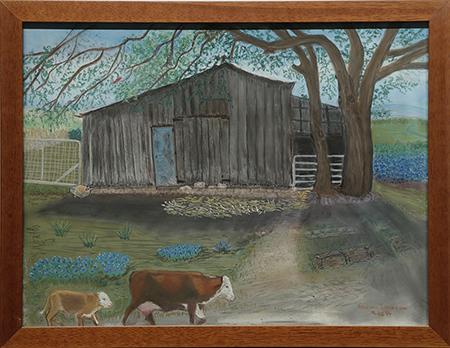 Old Barn by artist Geneva Johnson