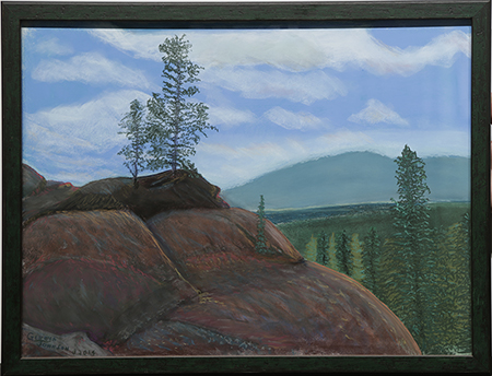 Wyoming Granite View by artist Geneva Johnson