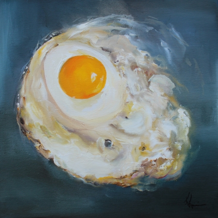 Fried Egg by artist Kristine Kainer