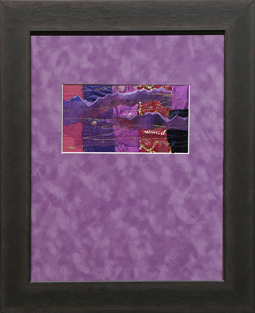 Bits of Purple by artist Joan Klasson