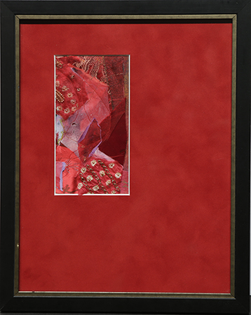 Bits of Red by artist Joan Klasson