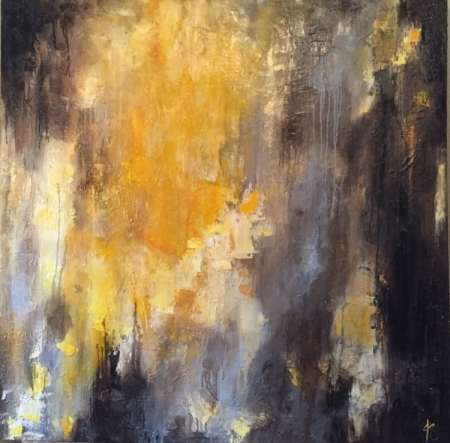 Gold Rush by artist Jennifer Kuenzler